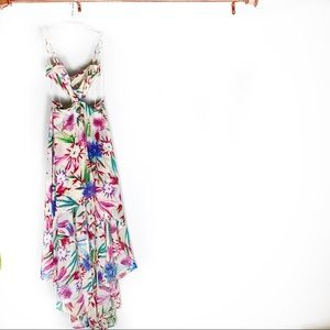 Luxxel small floral dress low high dress
